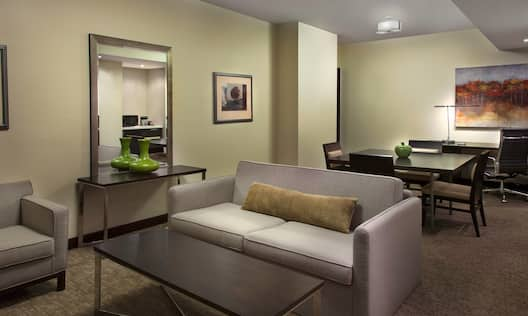 Suites Living and Dining Room