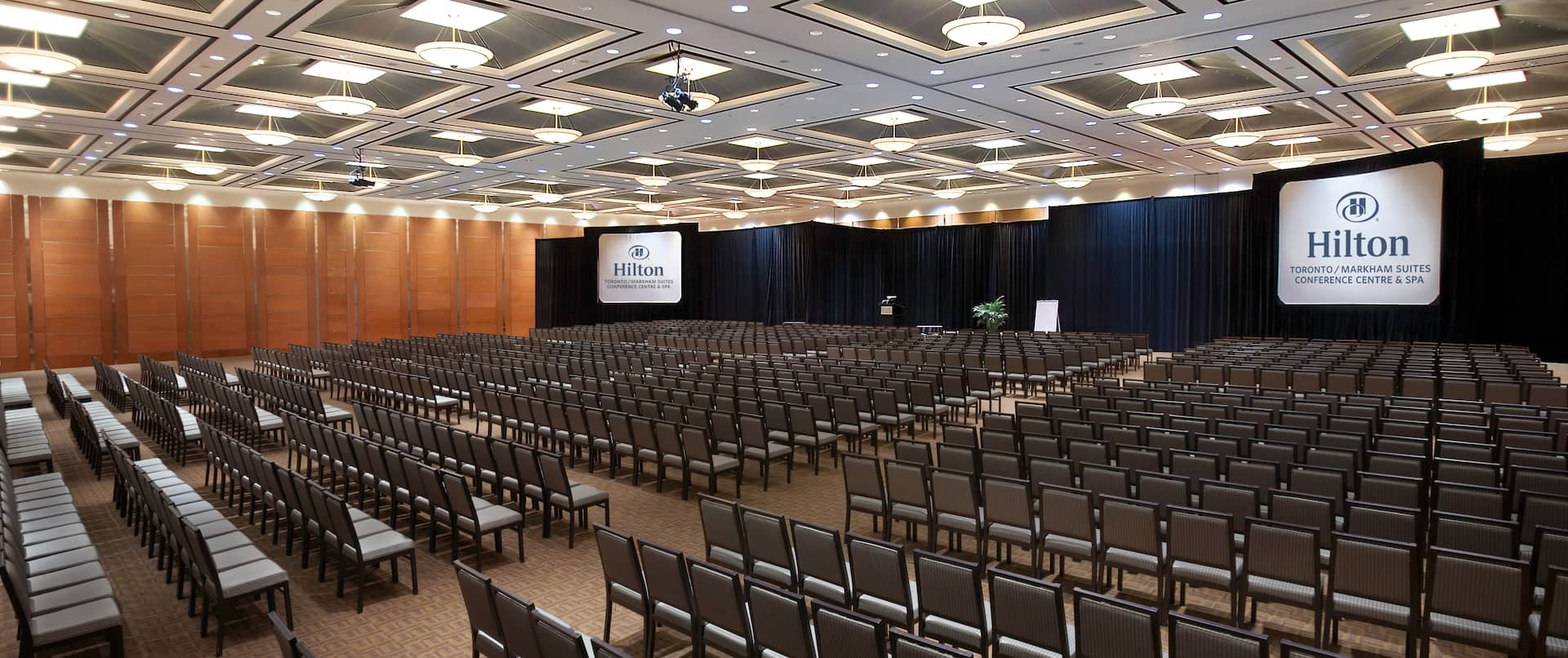 Conference Centre in Theatre Set Up