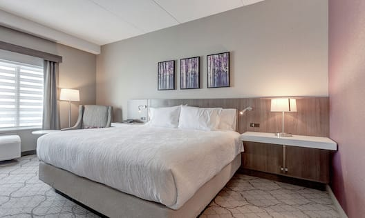 King Guestroom With Bed