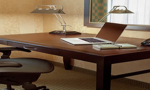 Work Desk in Guest Room
