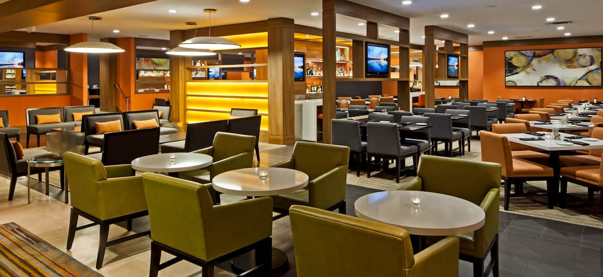 Lower Level of Quest Restaurant
