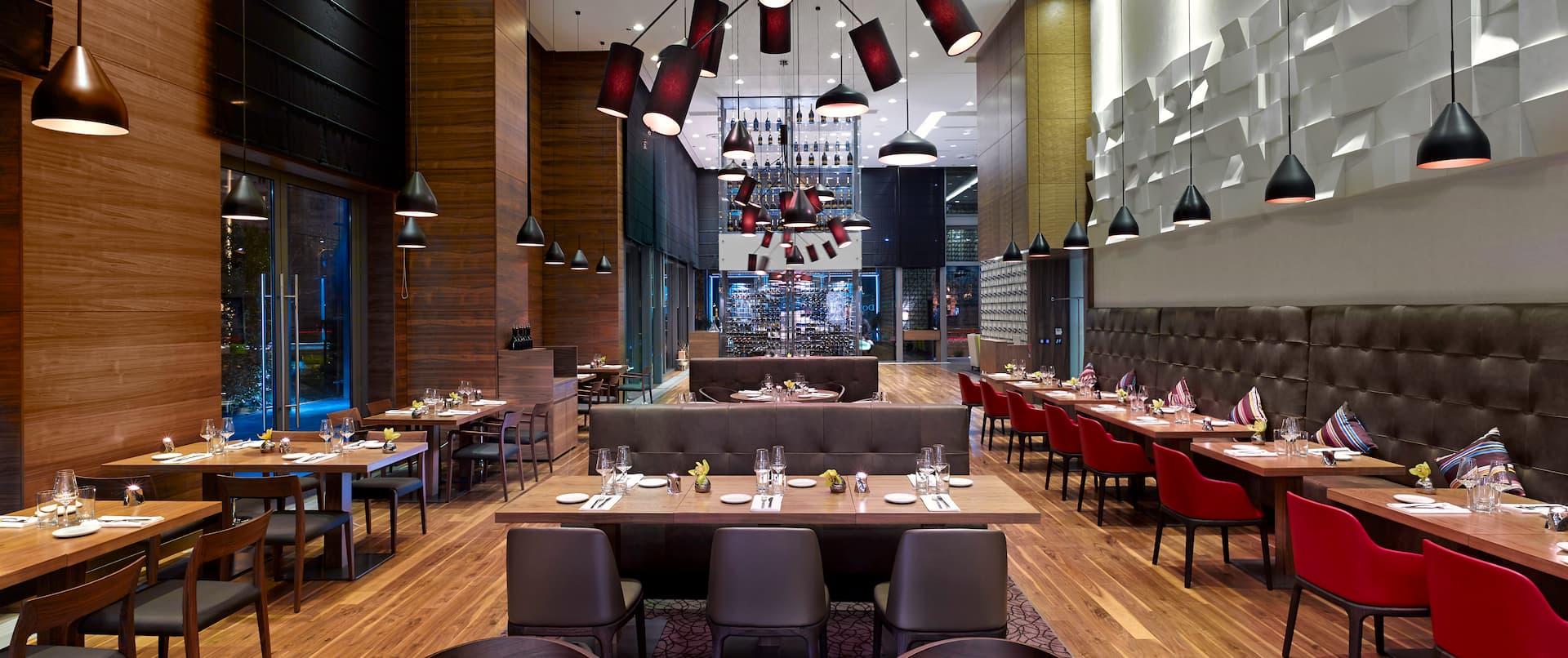 DoubleTree by Hilton Hotel Zagreb, Croatia - Oxbo Urban Bar & Grill
