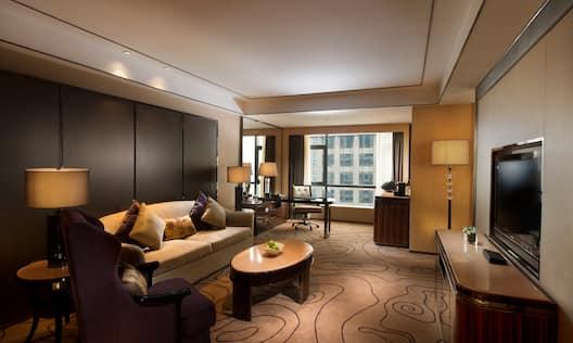 Living Room of Deluxe Suite