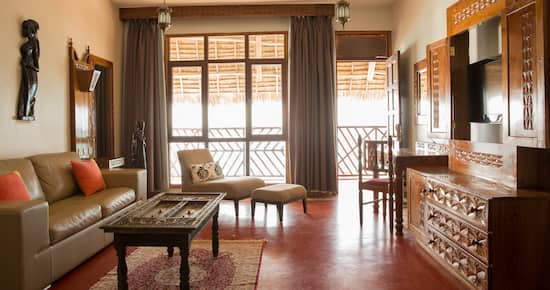 DoubleTree Resort by Hilton Hotel Zanzibar - Nungwi - Junior Suite Ocean Facing Lounge