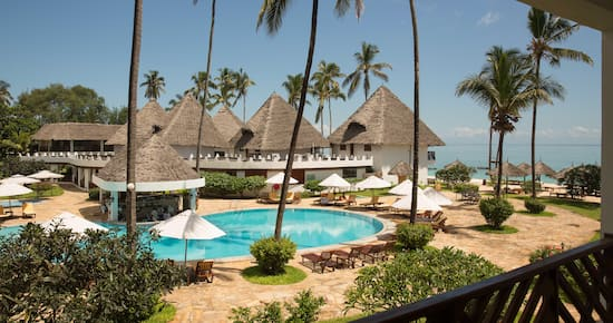 DoubleTree Resort by Hilton Hotel Zanzibar - Nungwi - Queen  RoomBed Pool View