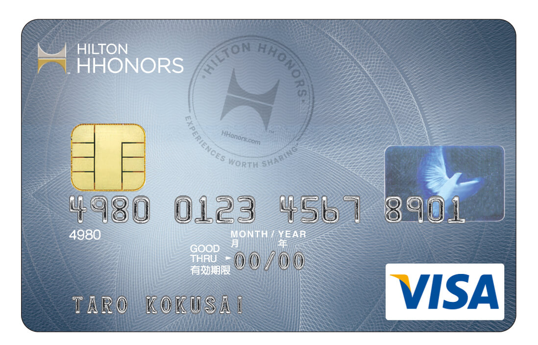 Credit card rewards with the Classic Hilton Honors Visa Card from Sumitomo Mitsui Card Co. Ltd.